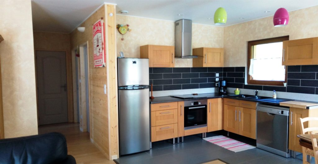 Photo de la cuisine ouverte